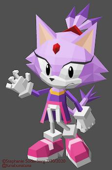 Sonic: Blaze in Sonic Championship