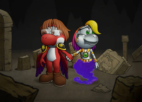 Yoshi: Disk and Luna's Remnants of the Past