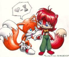 Sonic: TxF: I heart u infinite time