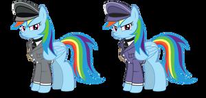 MLP: Major Rainbow Dash (W.I.P) unfinished