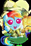 Halloween Dashie 2013