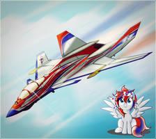 Princess Kujavia is accelerating by Ruhisu