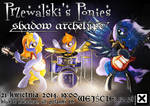 Tribrony official concert poster