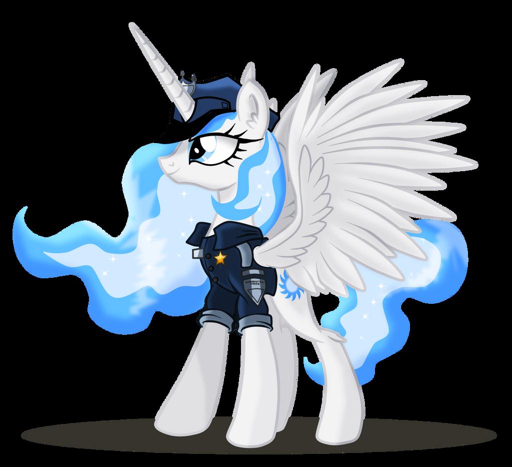 a police pony neon fire oc visual fan art mlp forums