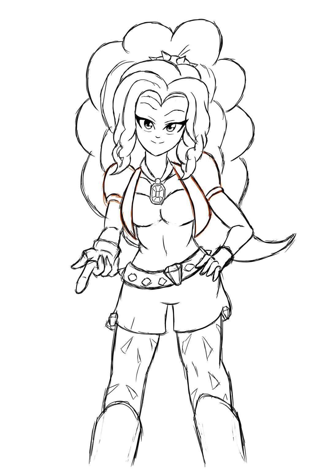mlp adagio dazzle coloring pages - photo#8