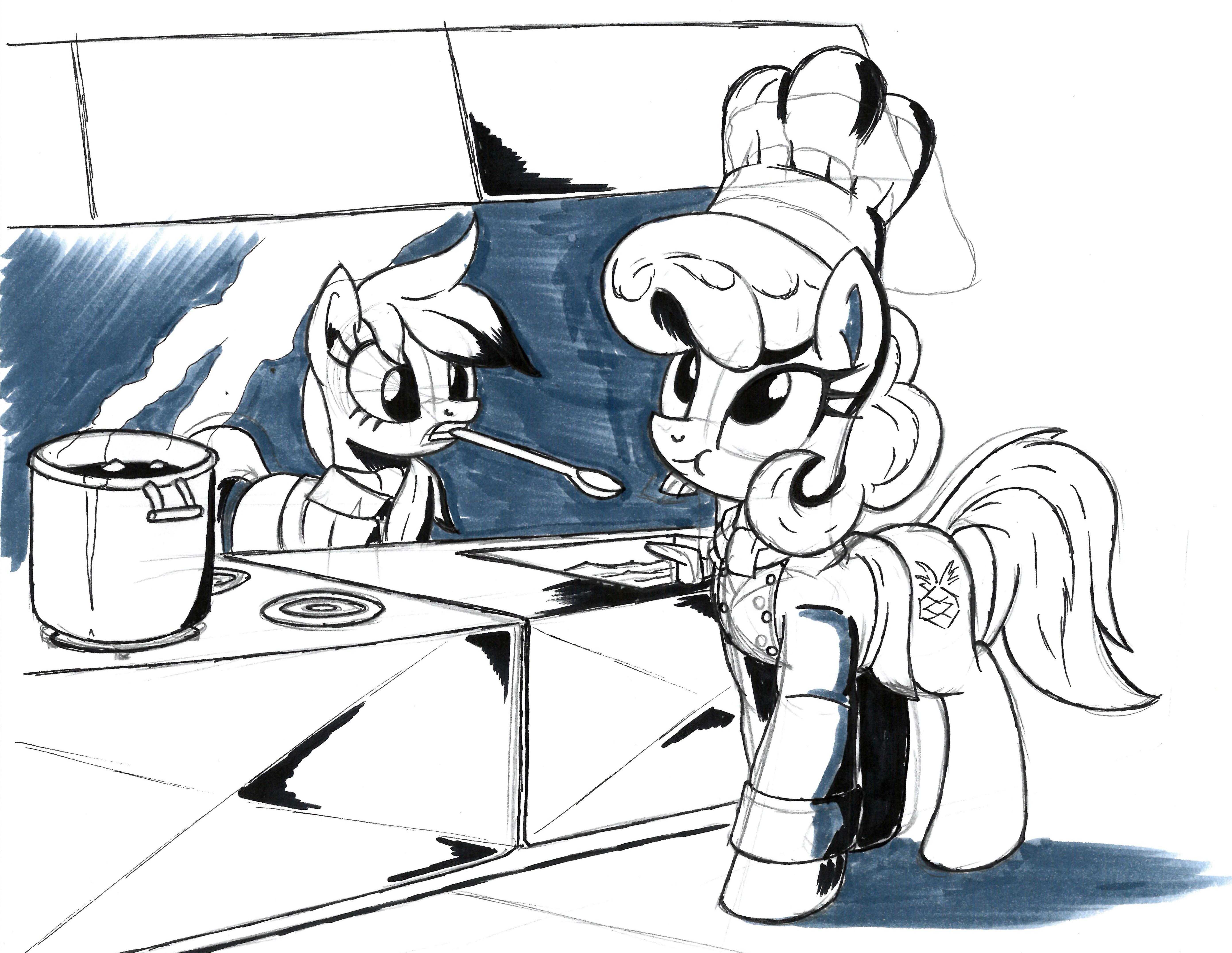 Commission doodle for MokaDog