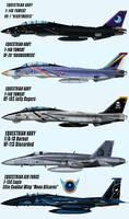 Equestrian Air Force squadrons by Ruhisu