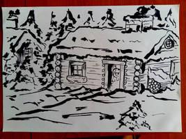 Morning doodle by Ruhisu