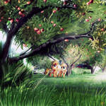 Let me show ya round' the orchard by Ruhisu