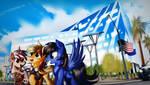 COMMISSION - Sightseeing by Ruhisu