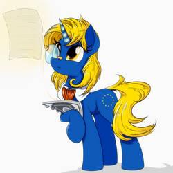 European Union Pony by RuhisuART