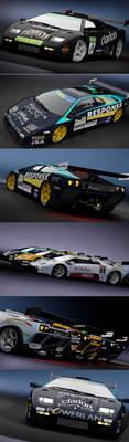 Assetto Corsa - Lamborghini Diablo GTR livery pack