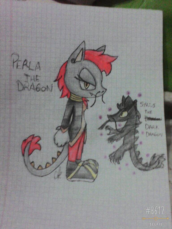 .:Perla the Dragon:. by Dixythefox