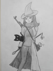 What kind of Wizard is this? by col275