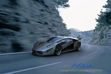 Avizpa Concept Car by lambo