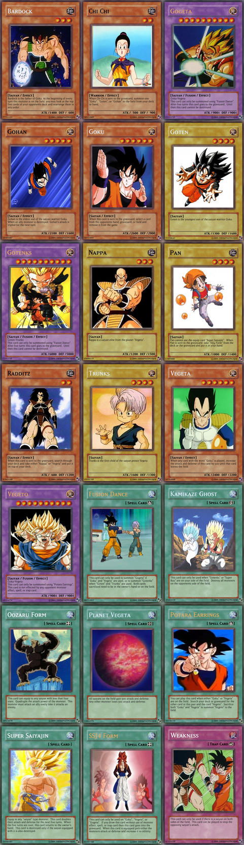 Yugioh Cards?? DBZ?? WHAT?? by TemBrook