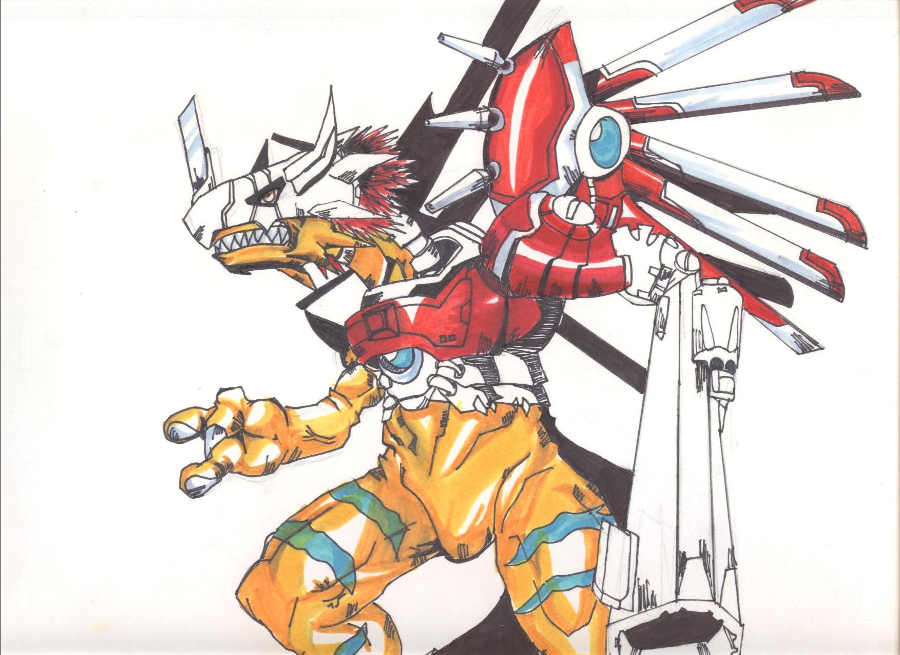 Greymon Evolution Tree Pin Digimon Gre...