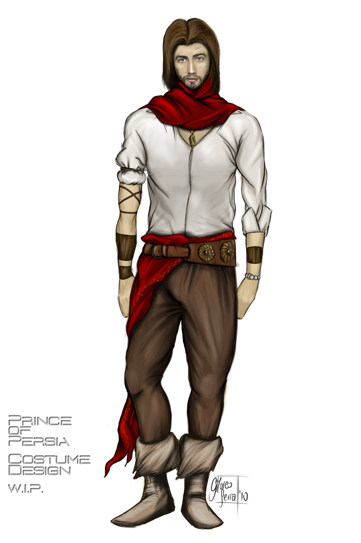 Prince Persia Costume Design by johnpyro on DeviantArt