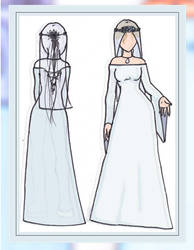 Wedding Dress Simple by chaded