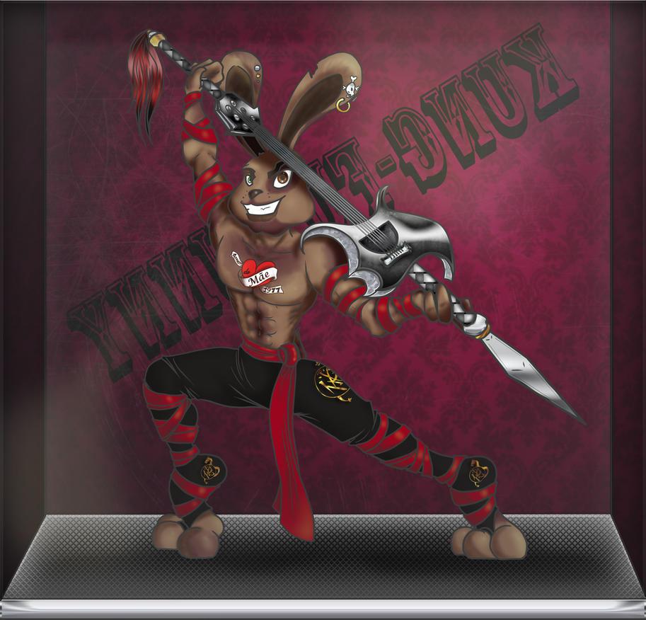 Kungfu Bunny by Lust-Daeva