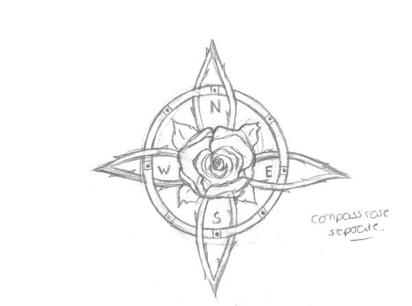 Gallery For gt Compass Rose Drawing