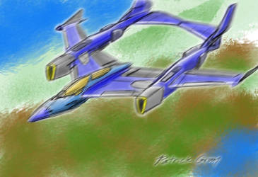 P38-1000 Super Lightning by Raziel1000