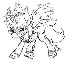 Battle pony