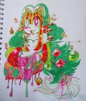 Jolly guts by pandamoonpaws