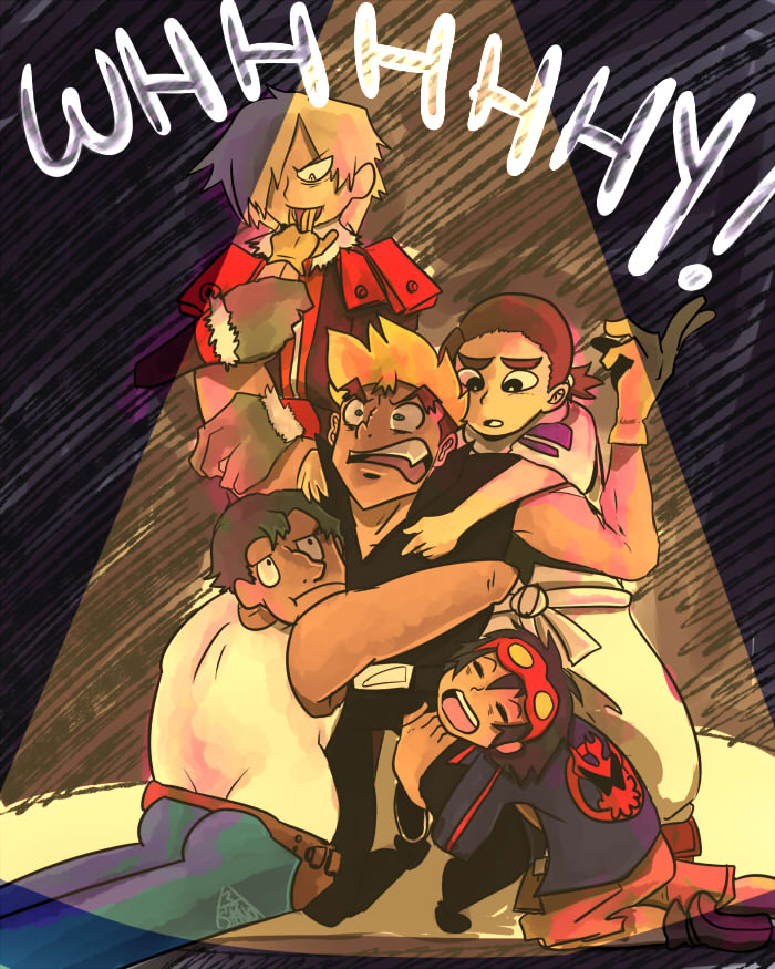 Kittan is such a Harem by SanoStar