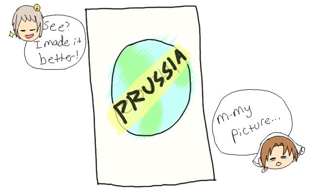 Prussia's World by LovelySilversky