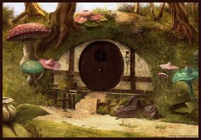 Hobbit house by logartis