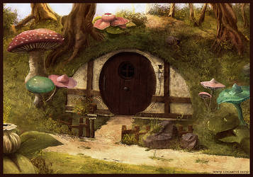 Hobbit house by logartis