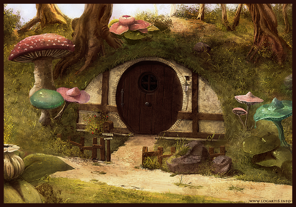 Hobbit House By Logartis On DeviantArt