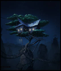 Treehouse by logartis