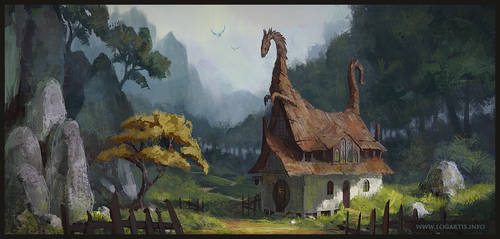 Dragon Valley Inn by logartis