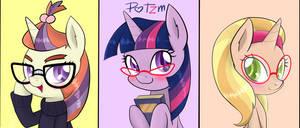 Glasses Pony