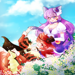 Cure Chocola and Cure Makaron