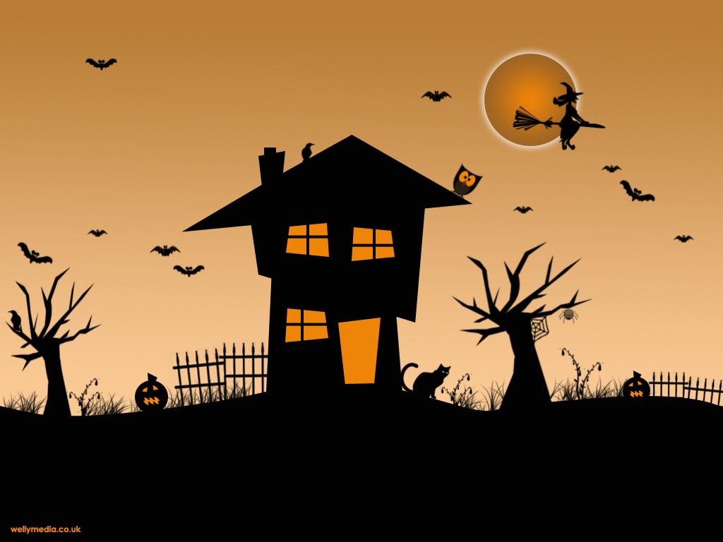 halloween scene clipart - photo #27
