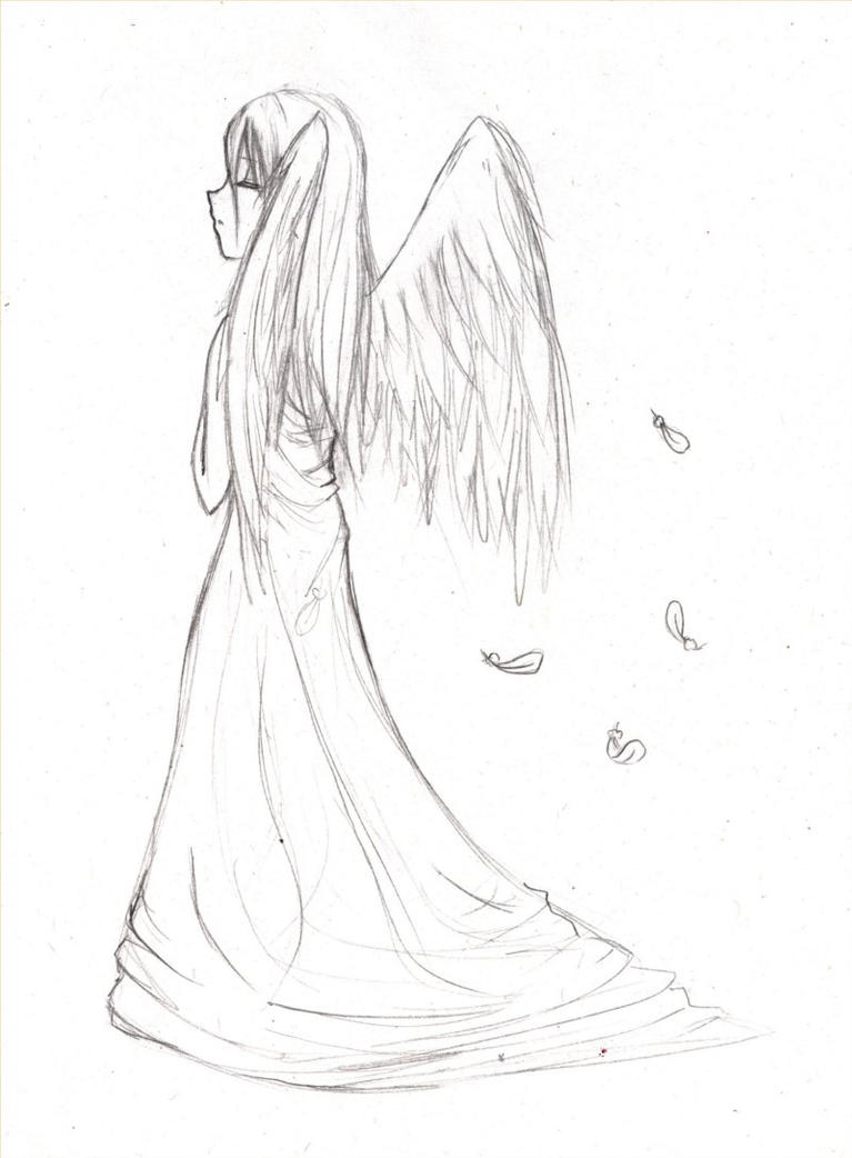 18 ange by maureen of eawy on deviantart - Dessin manga ange ...