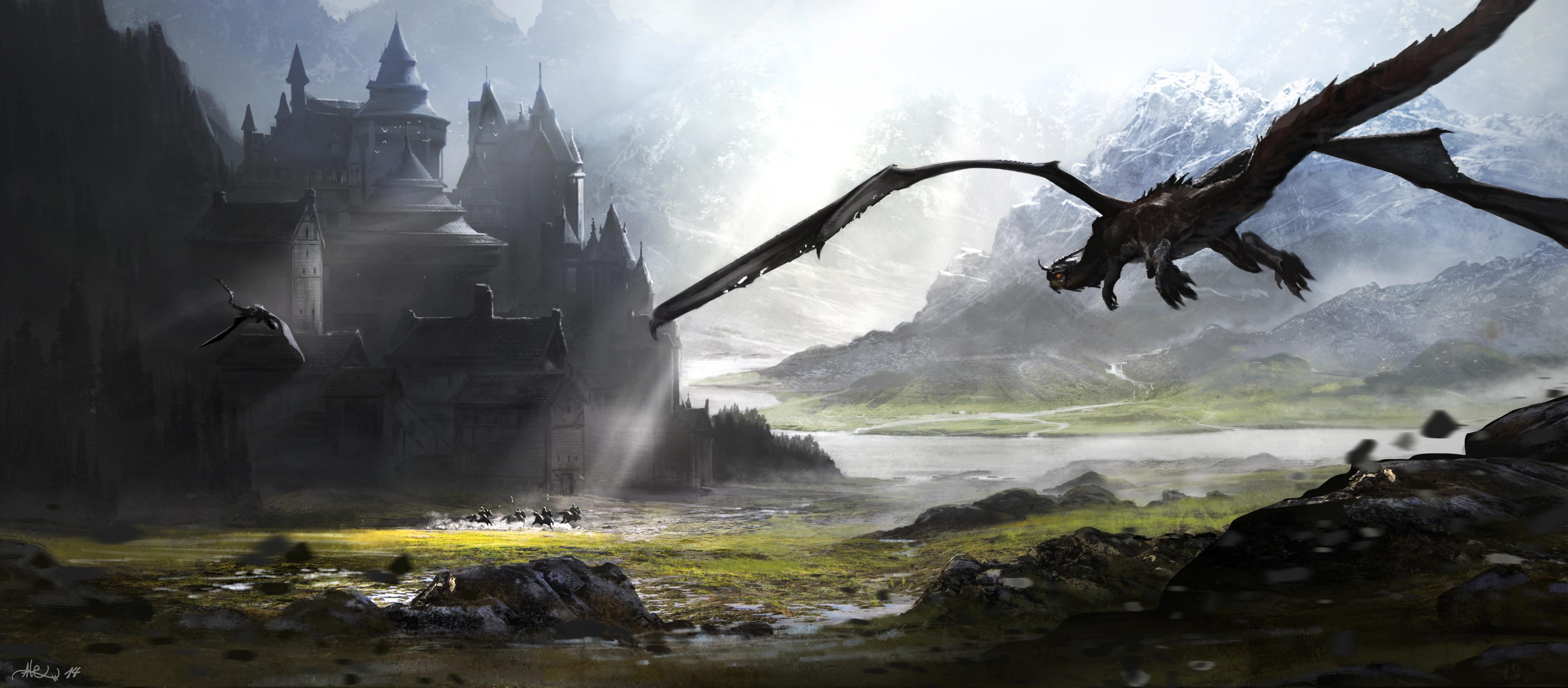 Première rencontre ? [Atom] Dragon_attack_fin_by_alex_olmedo-d7yoqn0