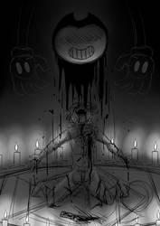 Benevolent Demon Someone Has Reawakened The Dark by Halfus