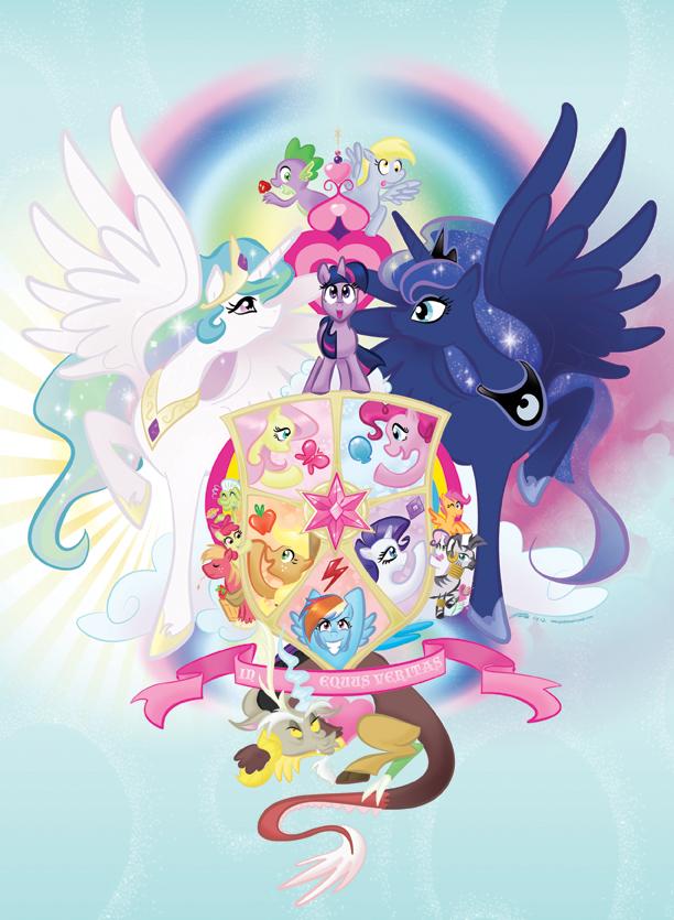 My little pony friendship is magic by geeksnextdoor on for My little magic door
