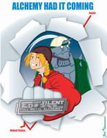 Ed and Silent Al by geeksnextdoor