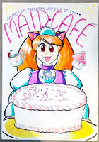 Anime USA 2013 - Maid Cafe Sign by geeksnextdoor