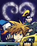 Kingdom Hearts by geeksnextdoor