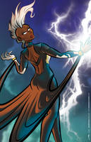 Marvel - Storm by geeksnextdoor