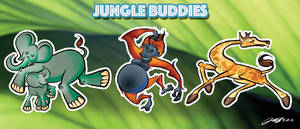 Charity Project - Jungle Buddies 1 by geeksnextdoor
