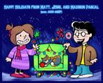 Happy Holidays from Matt, Jessi, and Madison!