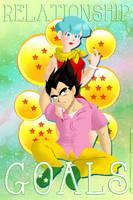 Bulma and Vegeta - Anime's Power Couple by geeksnextdoor