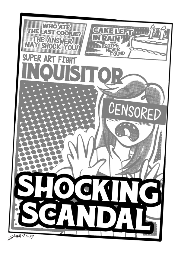 SAF TOPIC: Opponent's Dirty Secret by geeksnextdoor